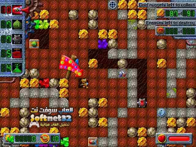 تحميل لعبة حرامي الذهب Treasure Mole
