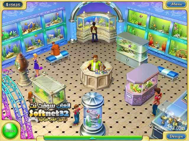 تحميل لعبة محل اسماك الزينة Tropical Fish Shop 2 للكمبيوتر