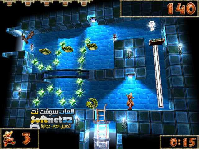 downlaod free kids games pc تحميل العاب مغامرات صائد المجوهرات Azangara   Treasure
