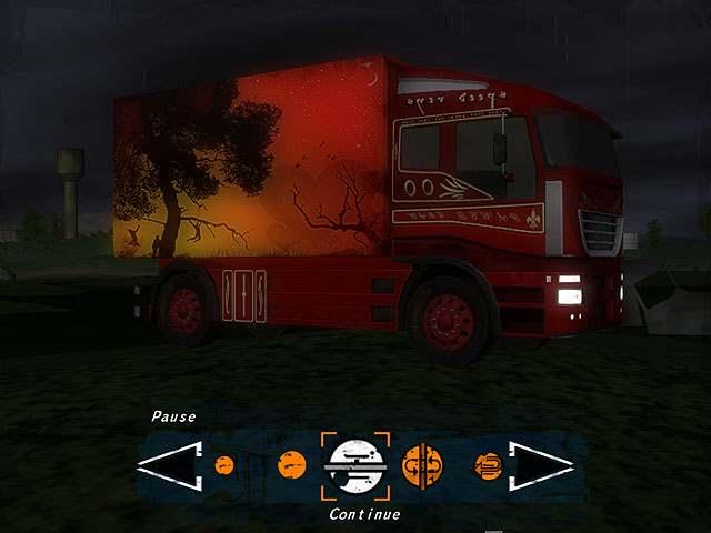 لعبة سباق الشاحنات الطويلة Night Truck Racing