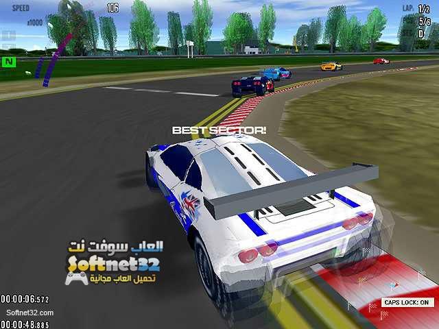 تحميل لعبة سباق السيارات جراند بريكس Grand Prix Racing كاملة