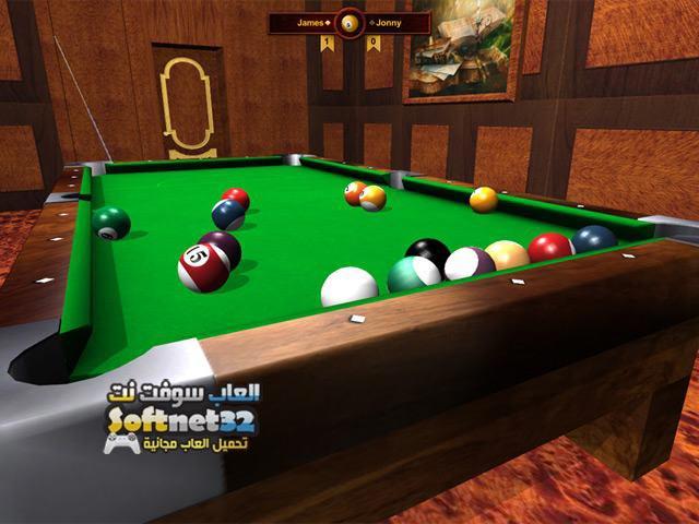 تحميل لعبة بلياردو المحترفين Billiardino 2 مجانا