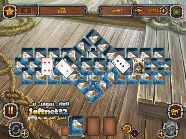 تحميل لعبة سوليتير القراصنة Pirate Solitaire