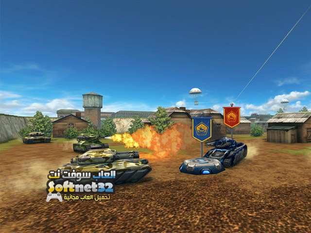 تحميل لعبة حرب الدبابات الحديثة اون لاين Tanki Online