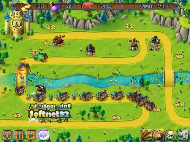 تحميل لعبة الدفاع عن المملكة Medieval Defenders مجانا