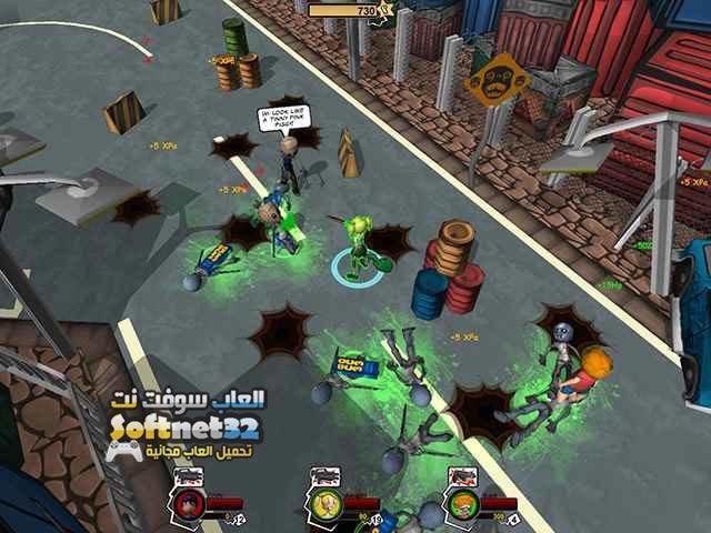 تحميل لعبة قتال الزومبي HotZomb Zombie Survival مجانا