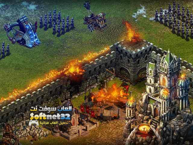 تحميل لعبة عصر الحروب Stormfall Age Of War مجانا