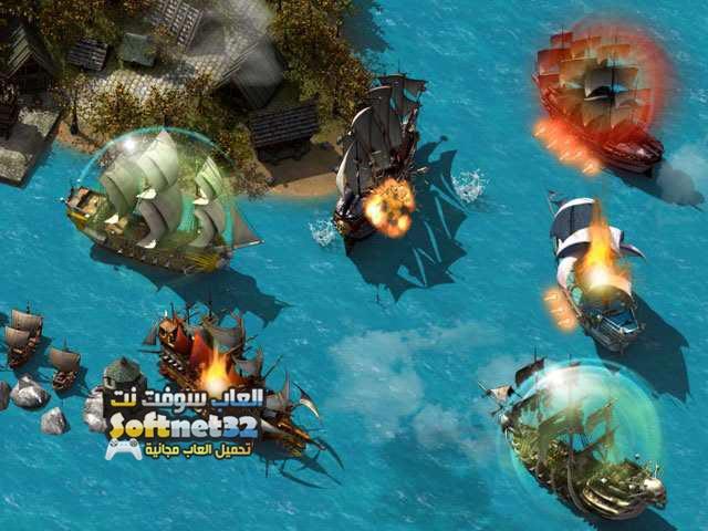 تحميل لعبة Pirate Storm حرب القراصنة للكمبيوتر مجانا