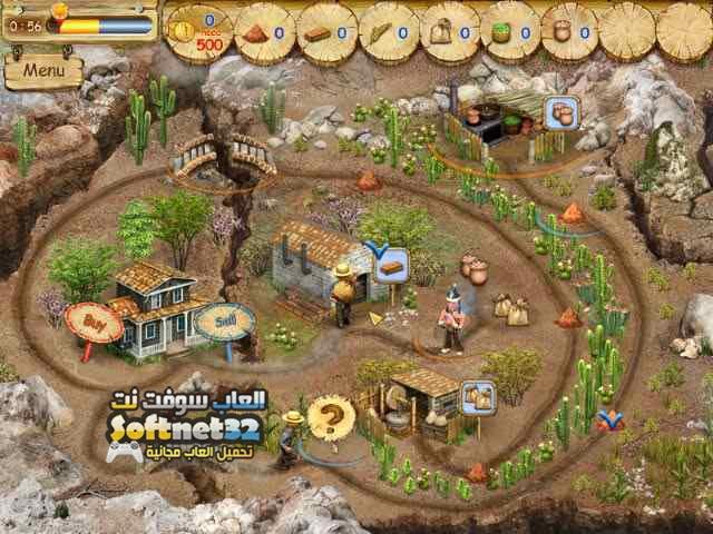 تحميل لعبة بناء المدن الاستراتيجية مجانا للكمبيوتر Pioneer Lands