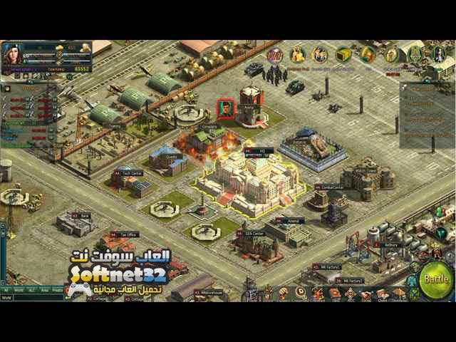 تحميل لعبة حرب الجيوش General War مجانا للكمبيوتر