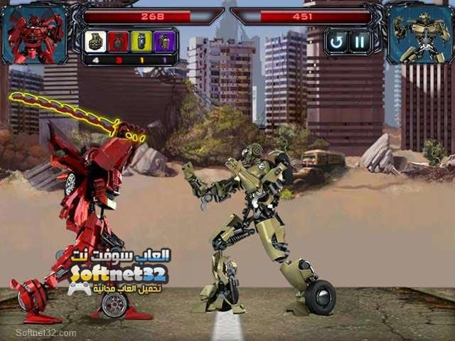 تحميل لعبة السيارات المتحولة Robo Racing كاملة مجانا