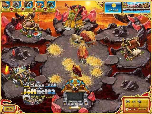 تحميل لعبة مزرعة الفايكنج Farm Frenzy Viking Heroes