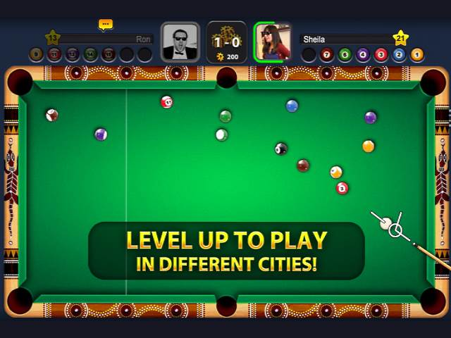 تحميل لعبة البلياردو الرائعة 8 ball pool للاندرويد مجانا