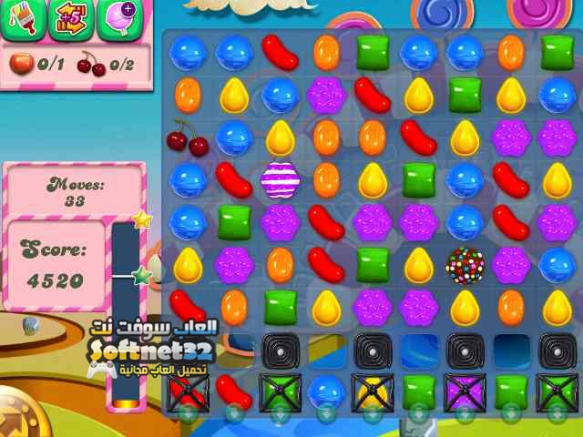 لعبة كاندي كراش ساغا Candy Crush Saga للتحميل مجانا