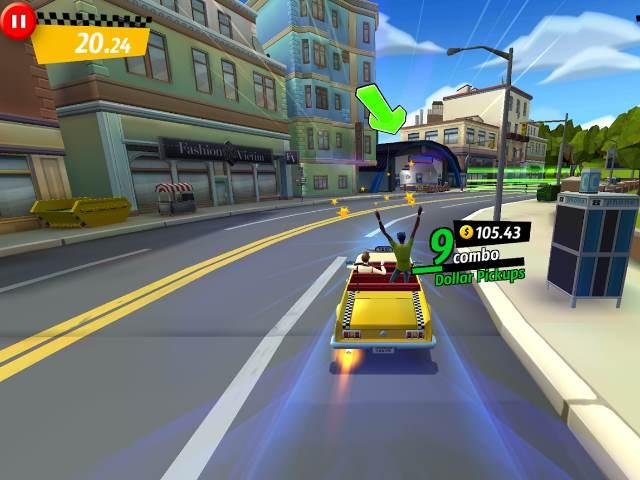 تحميل لعبة Crazy taxi City rush التكسي المجنون للاندرويد