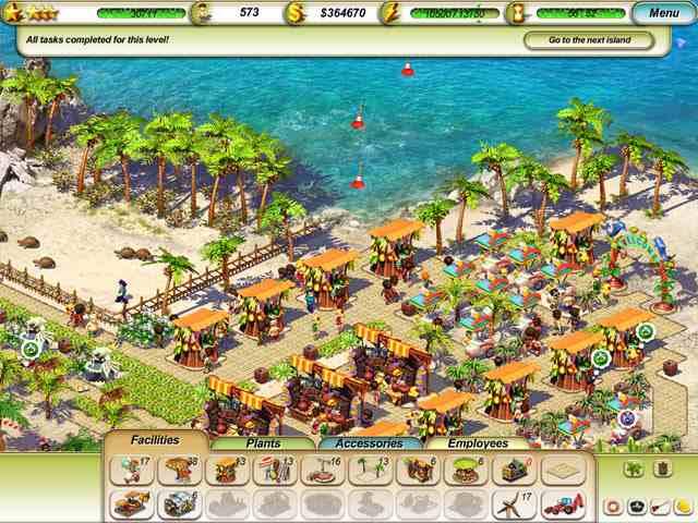 تحميل لعبة المنتجع السياحي Paradise Beach مجانا