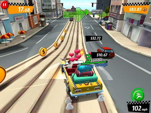 تحميل لعبة التاكسى المجنون Crazy Taxi City Rush