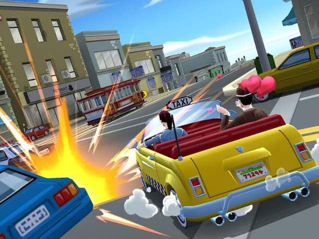 تحميل لعبة سائق التاكسي المجنون Crazy Taxi للاندرويد