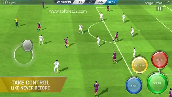 تحميل لعبة القدم فيفا 2017 FIFA 15 Ultimate Team مجانا برابط مباشر