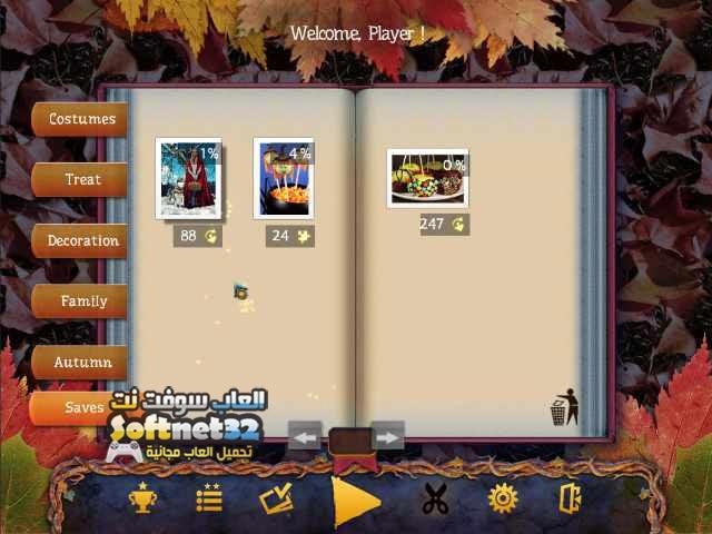تحميل لعبة تركيب الصور المبعثرة Holiday Jigsaw 2 Halloween
