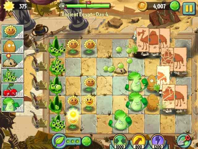 تحميل تنزيل لعبة Plants vs Zombies 2 مجانا