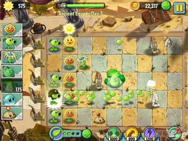 حميل لعبة plants vs zombies 2 من ميديا فاير
