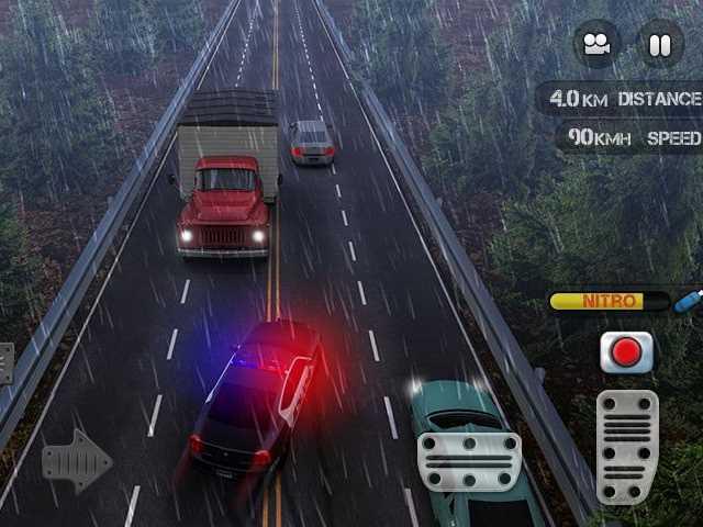 تحميل اجمل لعبة سيارات للاندرويد Race the Traffic Nitro