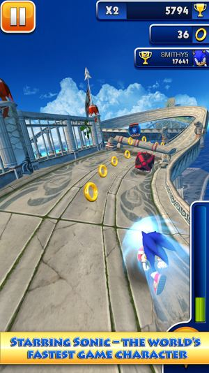 download Sonic Dash free