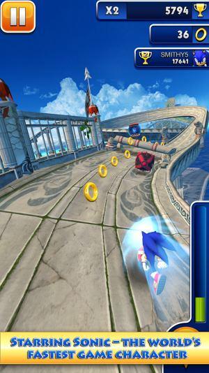 download Sonic Dash free