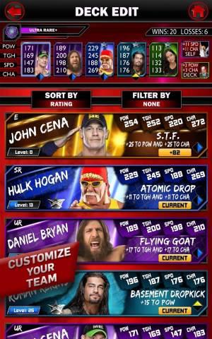 تحميل لعبة المصارعة الحره للمحترفين 2017 WWE SuperCard