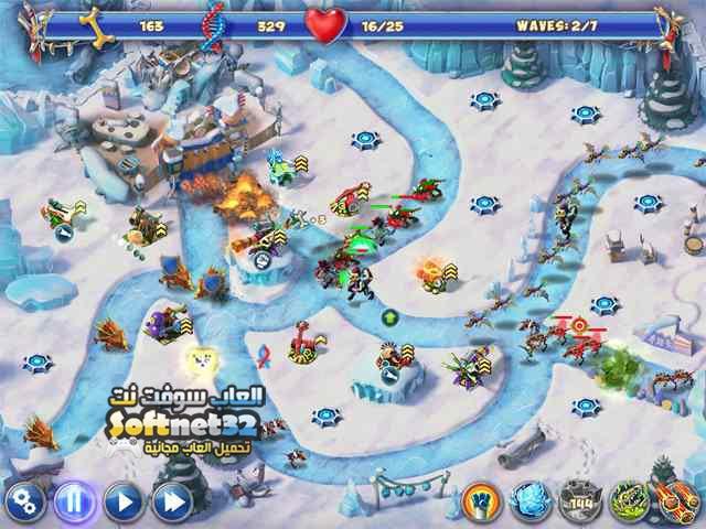 تحميل لعبة حديقة الديناصورات Dino R-r-age Defense للكمبيوتر