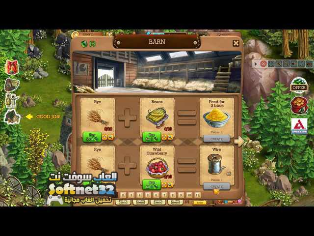تحميل لعبة مزرعة الارض السعيدة Klondike تنزيل العاب اطفال للكمبيوتر
