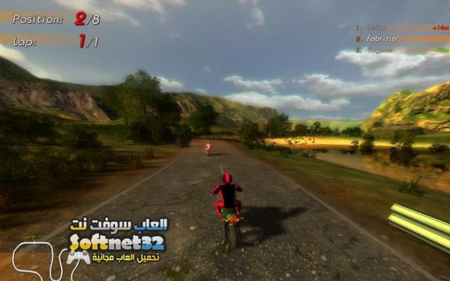 تحميل لعبة سباق الدراجات الجبلية