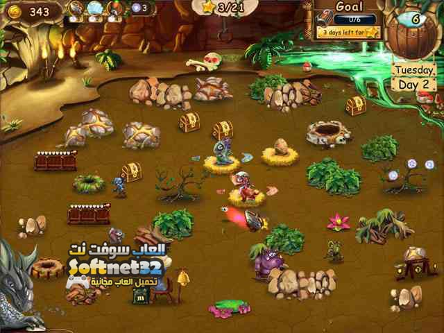 تحميل لعبة التنين الازرق Dragon Keeper 2 مجانا