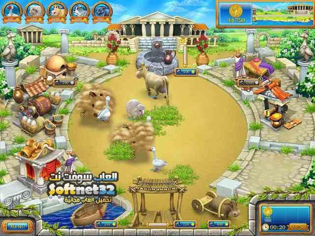 تحميل لعبة فارم فرنزي روما Farm Frenzy Ancient Rome للكمبيوتر