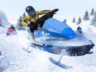 تحميل لعبه سباق الدراجات الثلجيه مجانا Download Snowmobile Simulator