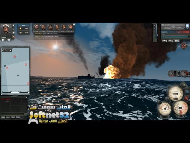 تحميل لعبة حرب الغواصات العالمية Silent Hunter Online