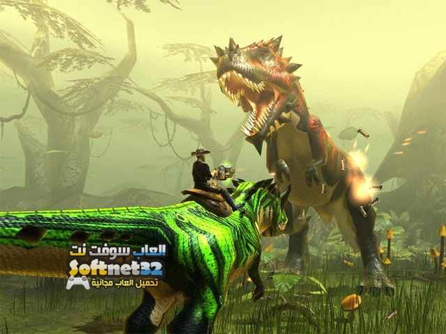 تحميل العاب اكشن كبيرة الحجم حرب الديناصورات Dino Storm مجانا