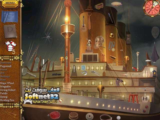 تحميل لعبة رحلة السفينة تيتانيك 1912 Titanic Mystery