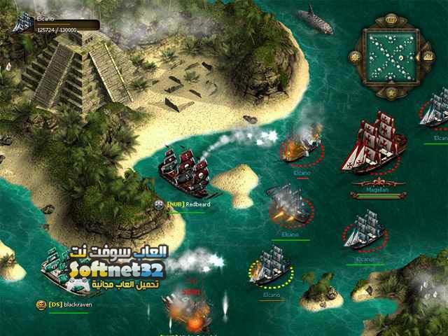 تحميل لعبة القراصنة الكاريبي
