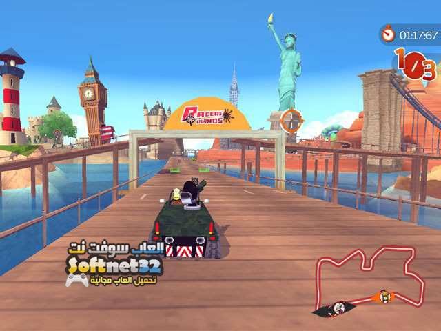 تحميل لعبة سباق السيارات المجنونة Racers Islands