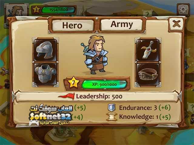 تحميل العاب اكشن مضغوطة للكمبيوتر المحاربين الشجعان Braveland