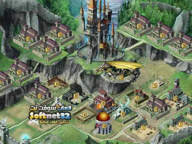 تحميل العاب اكشن كاملة مضغوطة لعبة تنين اتلانتس Dragons of Atlantis