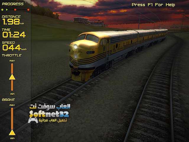 تحميل لعبة قيادة القطار الحقيقي Passenger Train Simulator