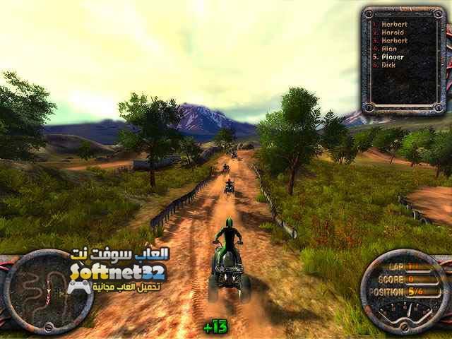 تحميل لعبة سباق الدراجات الرباعية ATV Quadro Racing