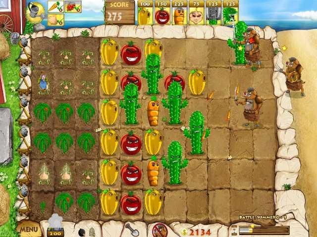 تحميل لعبة النباتات ضد الزومبي الجزء الثاني Battle Ranch مجانا