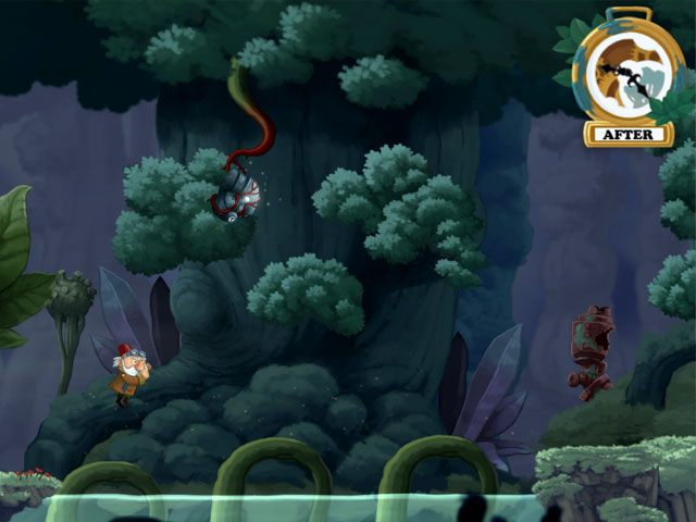 Chronology is a unique blend of platform jumper, puzzle and adventure game where you will guide the Old Inventor through challenging levels. The graphics and animations are truly beautiful and makes this puzzle game stand out of the crowd. You will have to use the special skill of travelling back and forward in time to manipulate objects in order to solve puzzles. Funny characters and level design that makes your brain work hard to figure out the solution. Download Chronology now for free.