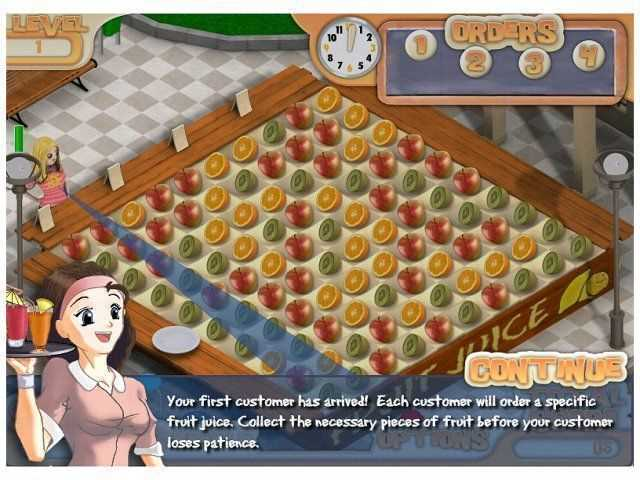 تحميل العاب طبخ بنات للكمبيوتر محل عصير الفواكه Juice Mania