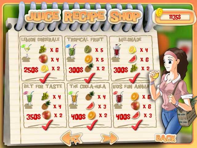 تحميل لعبة محل عصير الفواكه الطازج Juice Mania