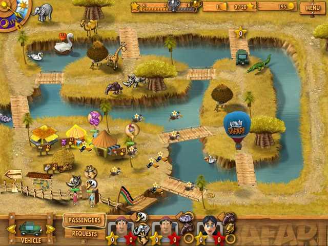 تحميل لعبة المزرعة السعيدة يودا سفاري Youda Safari